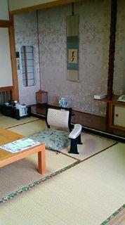 笹井ホテル到着!